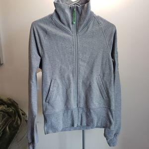 Lululemon Grey Zipper Sweatshirt